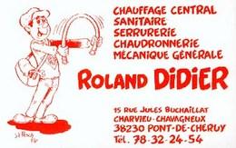 PESCH : Cartelette Bd Pour Roland DIDIER - Ansichtskarten