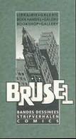 SCHUITEN : Cartelette Bd Pour Librairie BRUSSEL - Ansichtskarten