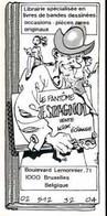 SEVERIN : Cartelette Bd Pour Librairie FANTOME ESPAGNOL - Ansichtskarten