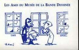 ROBIN : Cartelette Bd Pour AMIS DU MUSEE - Ansichtskarten