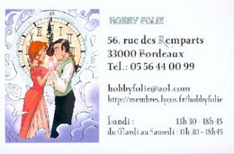 TRICHET : Cartelette Bd Pour Librairie HOBBY FOLIE - Ansichtskarten