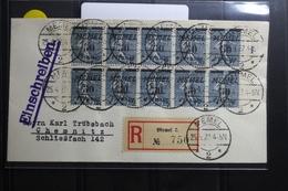 Memel 10x61 Auf Brief Als Mehrfachfrankatur Als 10er Einheit #BA749 - Klaipeda