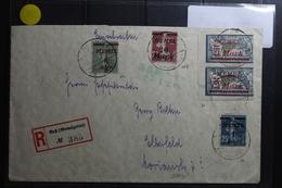 Memel Mit 2x71 Leicht Verzähnt Auf Brief Als Mischfrankatur E-Brief Ruß #BA731 - Klaipeda