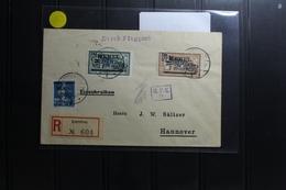 Memel 20, 42, 43 Auf Brief Als Mischfrankatur Mit Luftpost Befördert #BA810 - Klaipeda