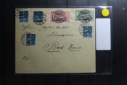 Memel Auf Brief Als Mischfrankatur #BA884 - Klaipeda