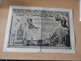 Österreich Effecten-Lotterie Los  Verein Herranbildung Kath.Lehrer.1901 - Loterijbiljetten