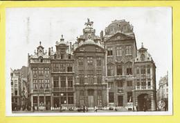 * Brussel - Bruxelles - Brussels * (Real Photo, Nr 2) La Grand'Place Coté Sud Ouest, Grote Markt, Façades - Bruxelles-ville