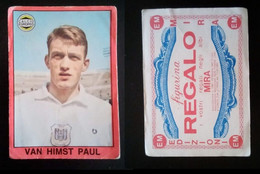 EDIZIONI MIRA CALCIATORI EUROPEI  1967-68 - VAN HIMST PAUL (Anderlecht) - Adesivi