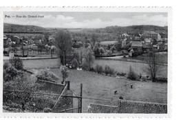 CPA Leon Hautenne - Vue Générale Du Village De Pry - Rue Du Grand-Pont. - Walcourt