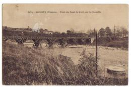 VOSGES - GOLBEY - Pont Du Saut Du Cerf Sur La Moselle - Brücken