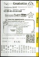 Ricevuta Giocata SuperEnalotto - Sisal - Del 14/03/17 - Loterijbiljetten