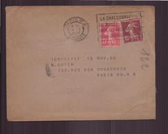 France, Enveloppe Du 14 Janvier 1938 De Paris Pour Paris - France