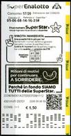 Ricevuta Giocata SuperEnalotto - Sisal - Del 23/06/20 - Loterijbiljetten