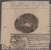Nepal: 1860's-1960's Ca.: More Than 300 Letters, Covers And Documents Bearing Various Nepalese Seals - Nepal