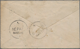 Nepal: 1880's-1970's Ca.: Group Of 46 Covers, Postcards And Postal Stationery Items From And To Nepa - Nepal