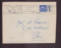Algérie, Enveloppe Du 27 Avril 1958 De Oran Pour Paris - Covers & Documents