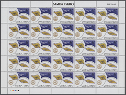 Samoa: 1970/1980, Big Investment Accumulation Of Full Sheets, Part Sheets And Souvenir Sheets. Varyi - Colonie: Samoa