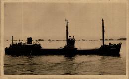 """Crichtown"" // R.P.P.C.  Barcos Boats Navire - Commercio"