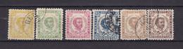 Montenegro - 1890/93 - Michel Nr. 1/2+4/7 III - Ungebr.m.Falz/Gestempelt - Montenegro