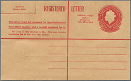 Weihnachtsinsel: 1959, Bundle With 30 Registered Envelopes QEII 30c. Red All Fine And Fresh Unused, - Christmas Island