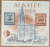 Feuillet CNEP - YT N°1 - Salon Philatélique De Strasbourg - 1980 - Neuf - CNEP