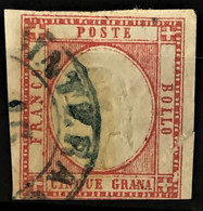 NAPLES 1861 - Canceled - Sc# 23 - 5g - Naples