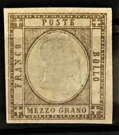 NAPLES 1861 - MLH - Sc# 20 - 1/2g - Naples