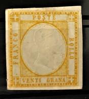 NAPLES 1861 - MLH - Sc# 26 - 20g - Naples