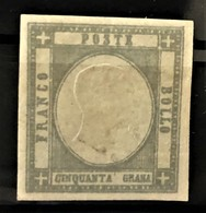 NAPLES 1861 - MLH - Sc# 27 - 50g - Naples
