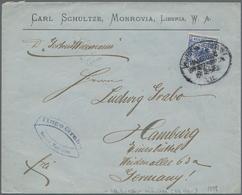 """Deutsche Schiffspost - Marine: 1891/1914, Kleine Spezialsammlung """"Deutsche Seepost Im Postverkehr Mi - Allemagne"""