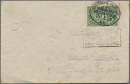 Deutsche Schiffspost - Marine: 1898/1940 (ca.), Vielseitige Partie Von 26 Schiffspost-Briefen Und -K - Allemagne
