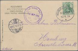 Deutsche Schiffspost - Marine: 1900/1944 (ca.), Marine-Schiffspost Und Dt.Seepost, Vielseitiges Konv - Allemagne