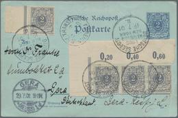 Deutsche Schiffspost Im Ausland - Seepost: 1893/1936 (ca.), Rd. 50 Belege Mit Teils Interessanten Ab - Allemagne