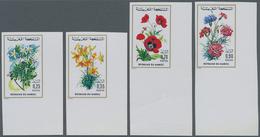 Thematik: Flora, Botanik / Flora, Botany, Bloom: 1975, MOROCCO: Flowers Complete Set Of Four Incl. 0 - Other