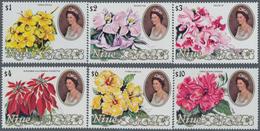Thematik: Flora, Botanik / Flora, Botany, Bloom: 1981/1982, NIUE: QEII High Denominated Values Set O - Other