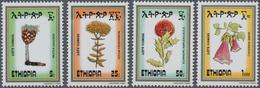 Thematik: Flora, Botanik / Flora, Botany, Bloom: 1984, ETHIOPIA: Flowers Complete Set Of Four (Prote - Other