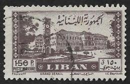 LIBAN  1947 -  PA  26 - Maison Du Gouvernement  -  Oblitéré - Lebanon