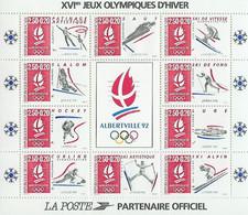 JO Albertville 1992 France - Frankreich Y&T N°BF14 - Michel N°B12 *** - Winter 1992: Albertville