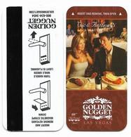 Golden Nugget Hotel & Casino, Las Vegas, Used Magnetic Hotel Room Key Card # Gn-13a - Hotelsleutels (kaarten)