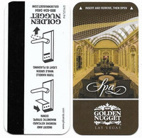 Golden Nugget Hotel & Casino, Las Vegas, Used Magnetic Hotel Room Key Card # Gn-37a - Hotelsleutels (kaarten)