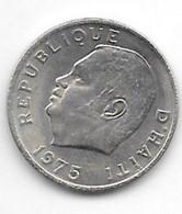 Haiti 5 Cents 1975 Km 119    Xf+/ms60 - Haiti