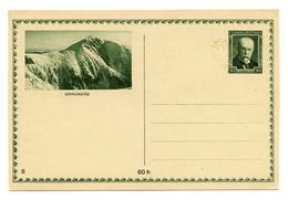 Krkonoše Illustrated Postal Stationery Postcard Unused B200915 - Ansichtskarten