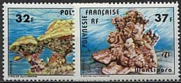 Polynésie, N° 130 à N° 131**  Y Et T - Nuevos