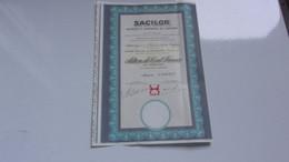 SACILOR Acieries Et Laminoirs De Lorraine (hayange MOSELLE) - Unclassified