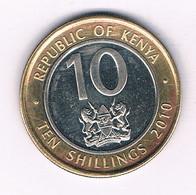 10 SHILLINGI 2010  KENIA /7381/ - Kenya
