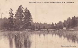 Doubs - Pontarlier - Le Lac De Saint-Point à La Passerelle - Pontarlier