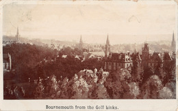 R447115 Bournemouth From The Golf Links. 1906 - Cartoline