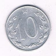 10 HALLER  1954  TSJECHOSLOWAKIJE /7386/ - Tsjechoslowakije