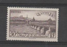 """FRANCE / 1939 / Y&T N° 450 ** : """"Touristique"""" (Lyon : Pont De La Guillotière - Rhône) X 1 - Unused Stamps"""