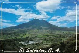 1 AK El Salvador * Der Chichontepec Vulkan Und Das Tal Jiboa * - El Salvador
